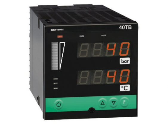 40TB Temperature and pressure double indicator / alarm unit