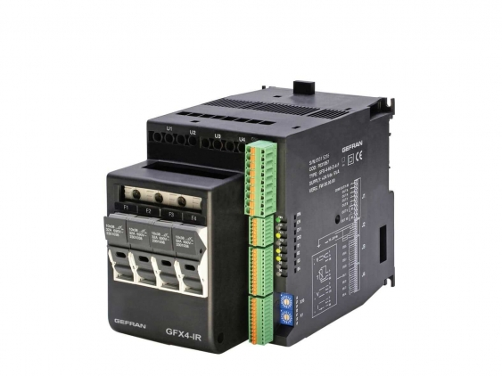 GFX4-IR 4-zone modular power controller for Infrared Lamps and inductive loads