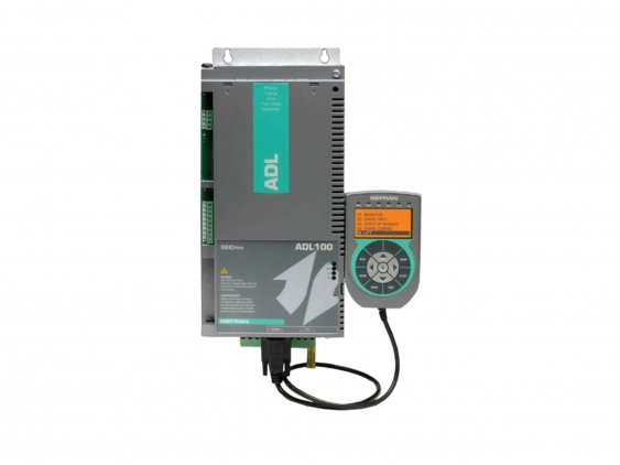 Vector inverter for lifts with asynchronous motors ADL100